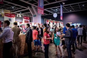 Young entrepreneurs showcase their ideas at the Rise conference in Hong Kong