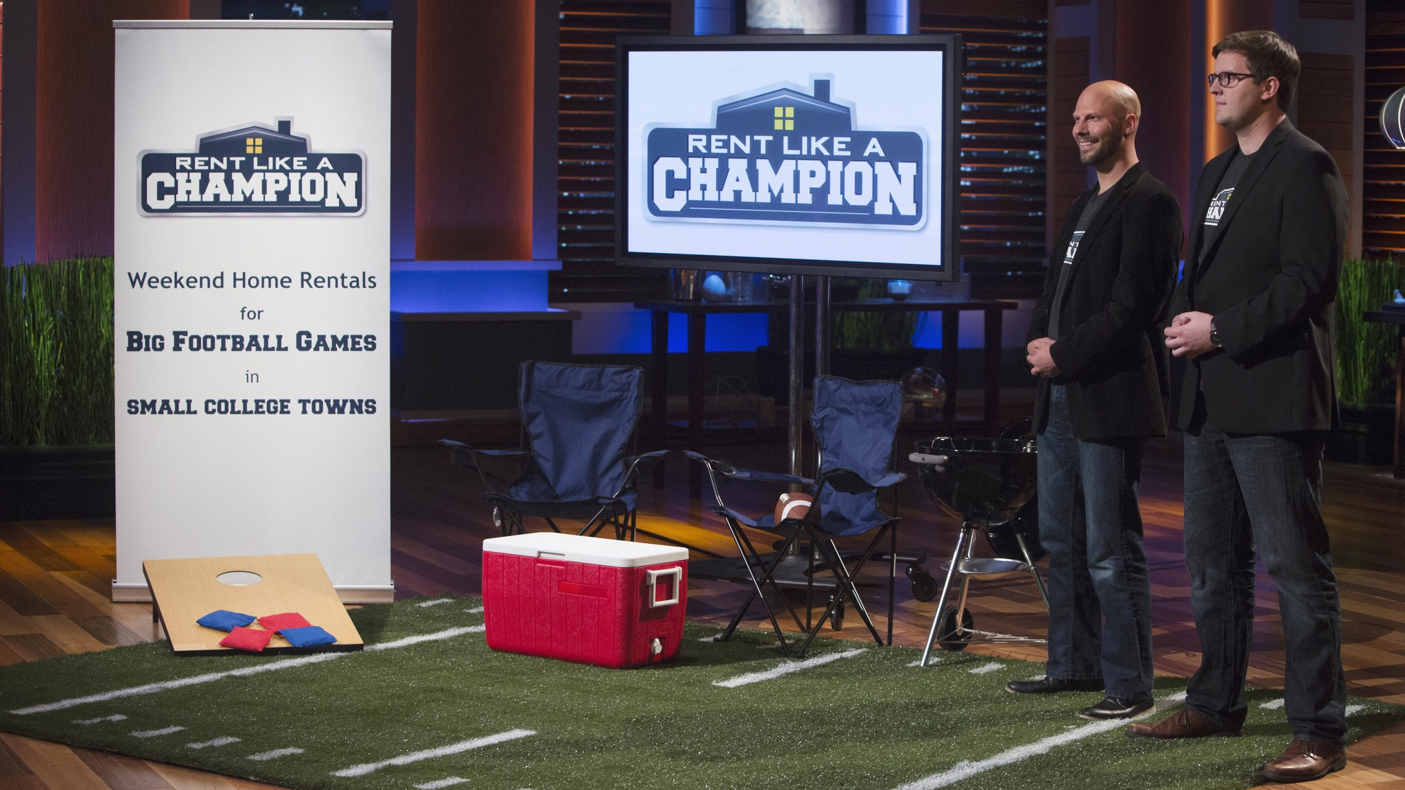 Drew and Mike appeared on Shark Tank in 2015 and won an investment from Mark Cuban and Chris Sacca