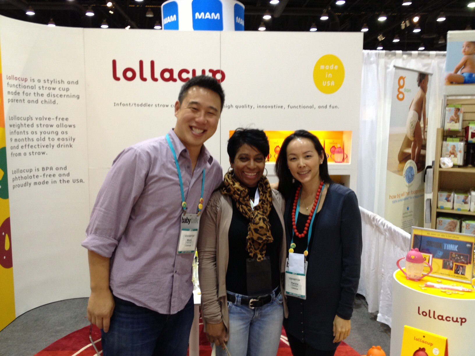 Lollaland co-founder Mark Lim (Far right)