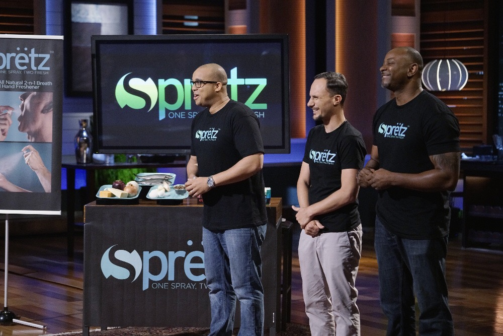 Spretz made their Shark Tank debut in 2016