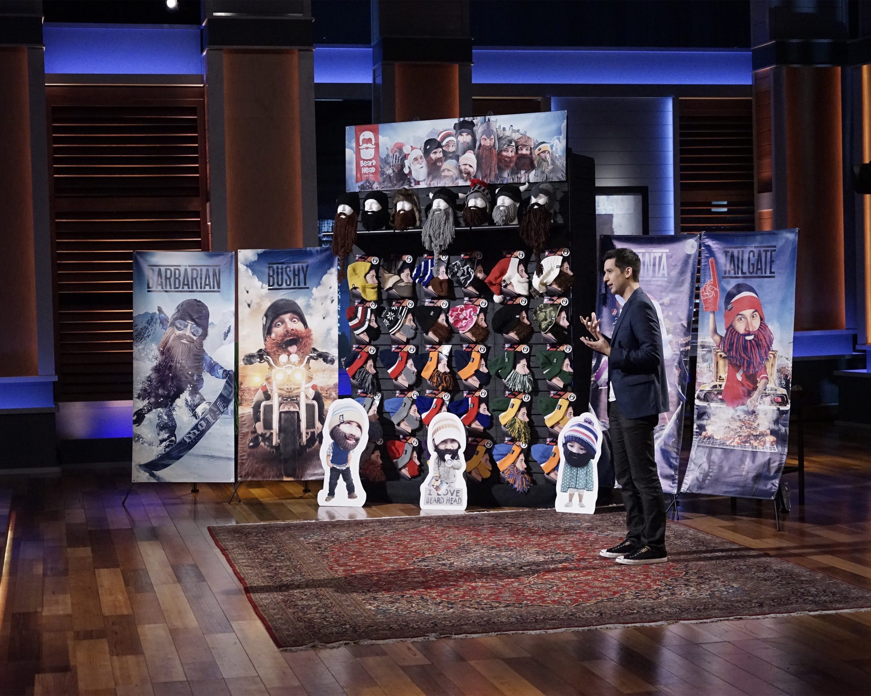 David and Beard Head founder appeared on Shark Tank in 2015