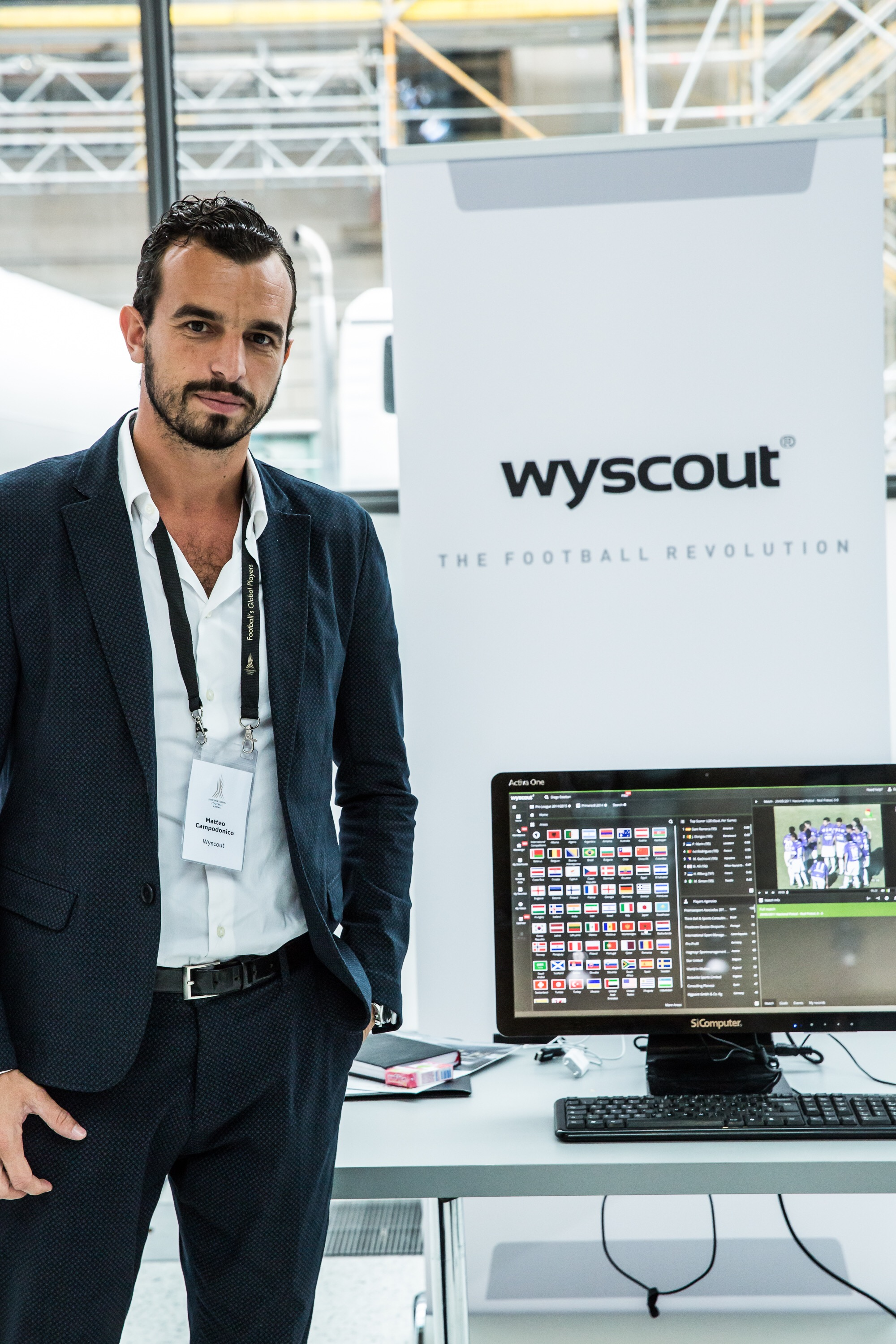 Wyscout is based in Italy