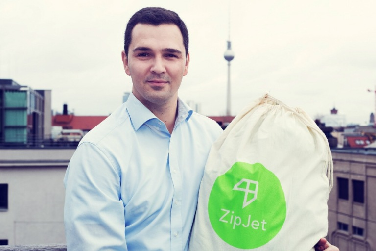 Zipjet co-founder Florian Färber